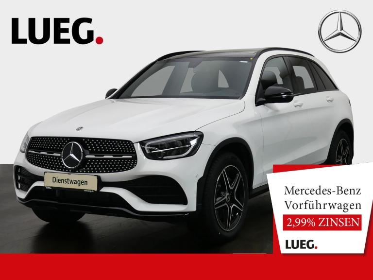 Mercedes-Benz GLC 200 d 4M AMG+NIGHT+19''+SP-P+PANO+AHK+AMB-BE, Jahr 2020, Diesel