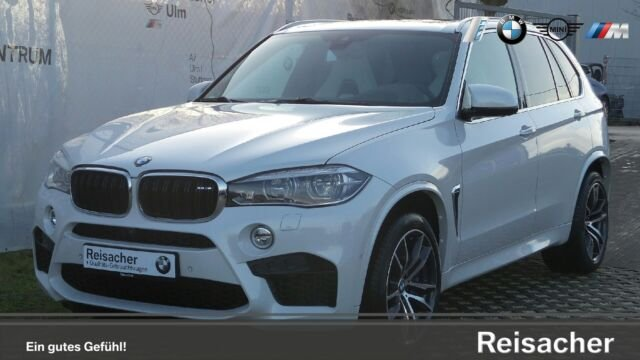 BMW X5 M HUD Kamera Surr-View SftClo. AHK uvm., Jahr 2017, petrol