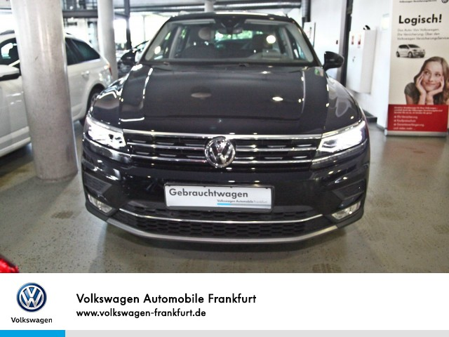 Volkswagen Tiguan 2.0 TDI DSG Highline AHK Navi TrailerAssist EmergencyAssist Tiguan 2.0 HLBMT4M 140TDID7A, Jahr 2016, Diesel