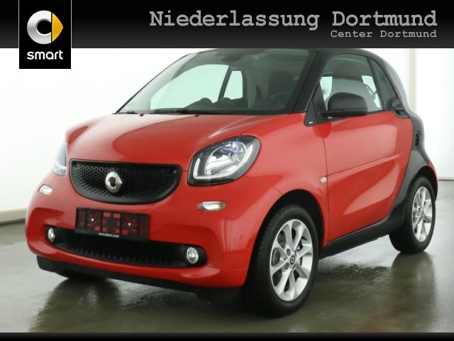 smart fortwo coupé 66kW passion DCT cool&Media SHZ Pano, Jahr 2019, Benzin