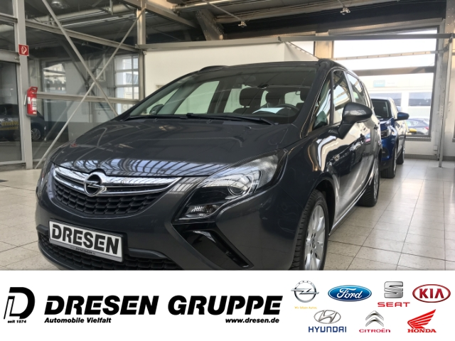 Opel Zafira Tourer Edition 1.4 Turbo SITZHEIZUNG/ALLWETTER/ALU-Felgen, Jahr 2014, Benzin