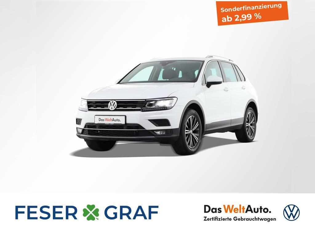 Volkswagen Tiguan Highline 2.0TDI 4x4 DSG LED Standheizung, Jahr 2018, Diesel