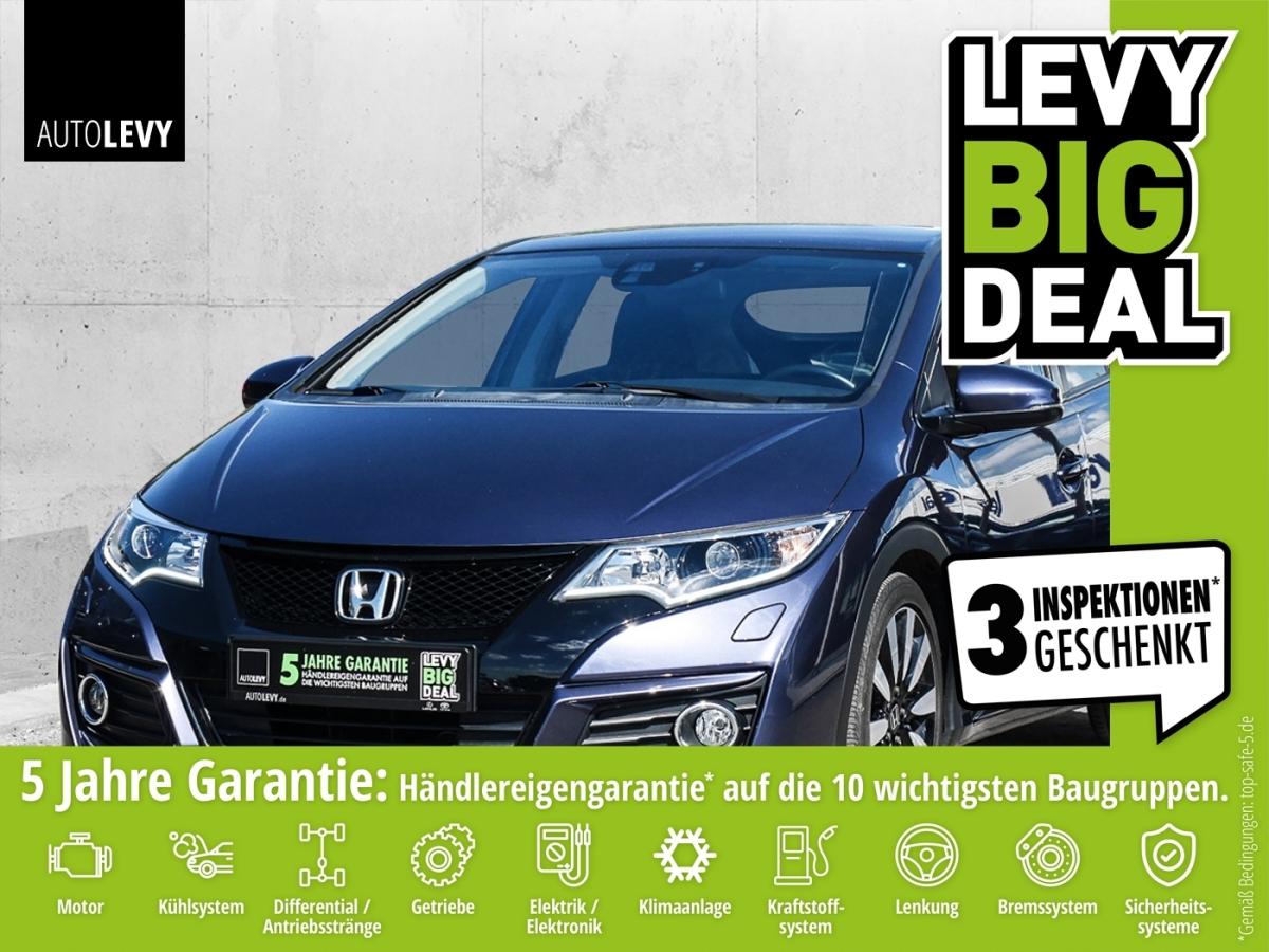 Honda Civic 1.4 i-VTEC Elegance Xenon*Kamera*SHZ*Temp*, Jahr 2015, Benzin