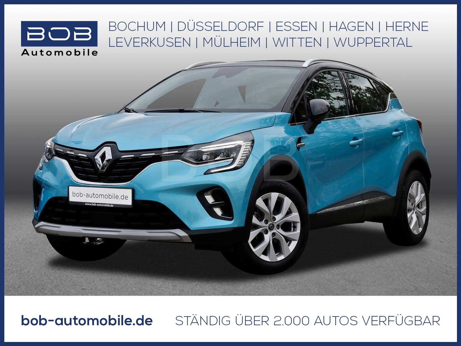 Renault Captur TCe 100 Intens NAVI SHZ PDC, Jahr 2020, Benzin