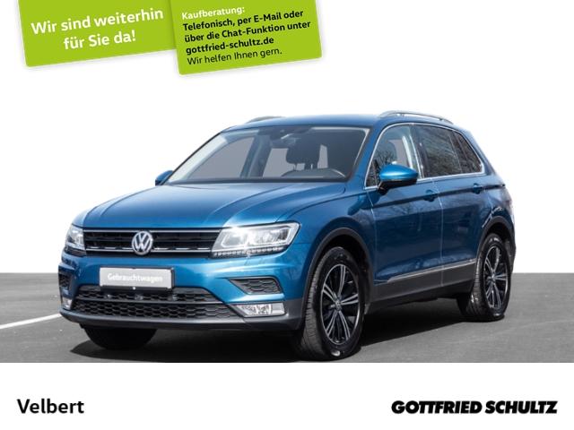 Volkswagen Tiguan 1.4 TSI NAVI RÜFA SHZ GRA Comfortline, Jahr 2017, Benzin