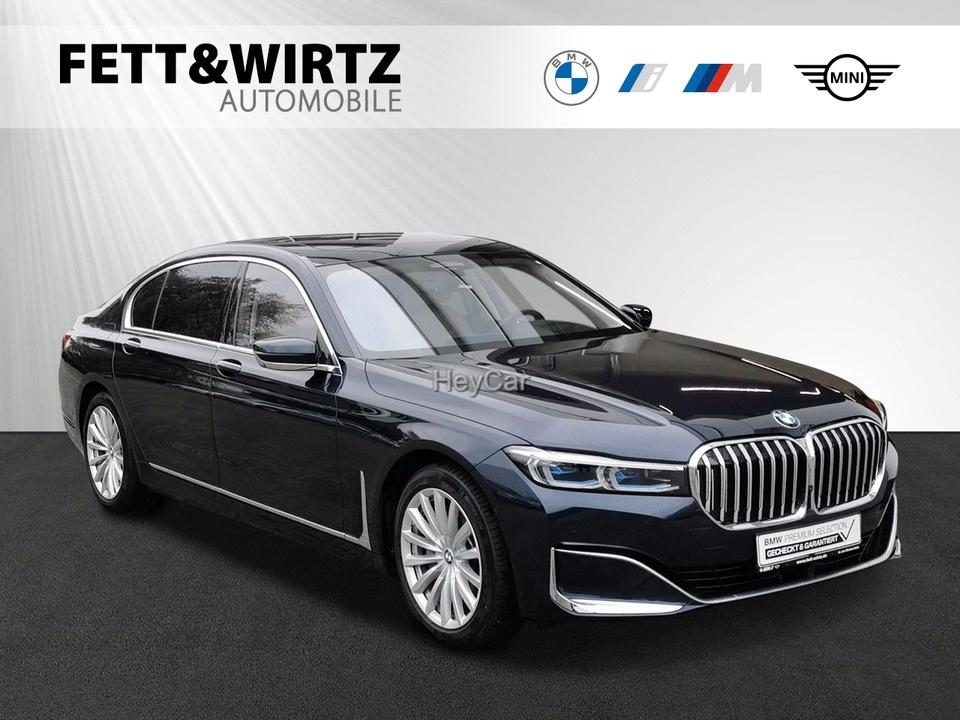 BMW 745Le Laser NightVi HUD Pano TV Massage Sitzbel., Jahr 2019, Hybrid
