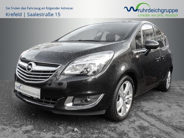 Opel Meriva B Innovation 1.4 Turbo LED-hinten LED-Tagfahrlicht Multif.Lenkrad RDC Klimaautom, Jahr 2014, Benzin