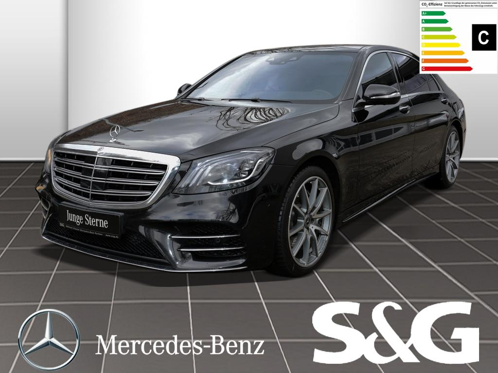Mercedes-Benz S 560 L 4MATIC AMG-Line LED/Distronic/Schiebedac, Jahr 2017, Benzin