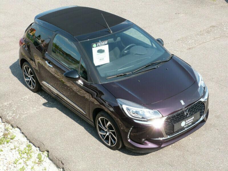 DS Automobiles DS3 Cabrio 1.2 16V SoChic DS LED Vision 17KLIMA, Jahr 2017, Benzin