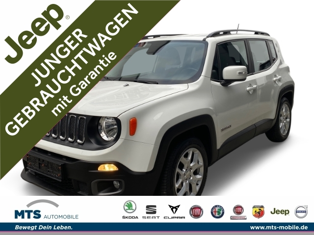 Jeep Renegade LONGITUDE FWD 1.4 MultiAir Sitzheizung, Parksensoren, Jahr 2017, Benzin