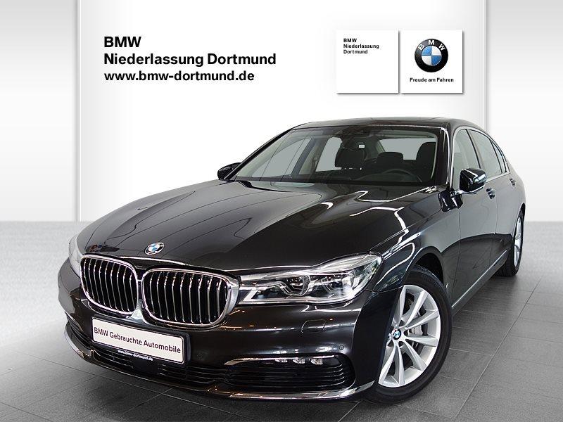 BMW 740i Li xDrive Limousine, Jahr 2017, Benzin