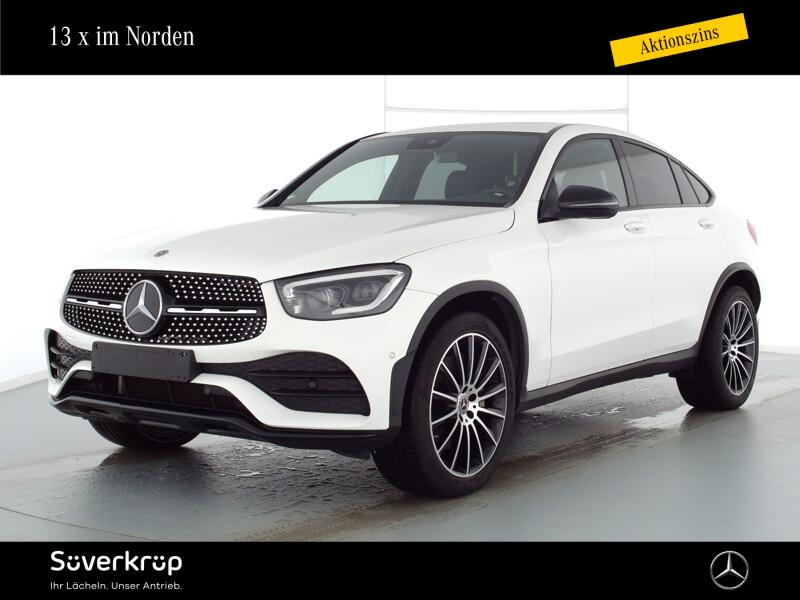 Mercedes-Benz GLC 400 d 4M Coupé AMG Spur-P./Night/LED/AHK, Jahr 2020, Diesel