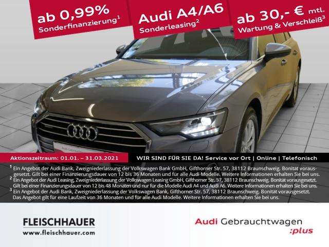 Audi A6 Avant 50 TDI qu. sport Navi+LED+Pano+AHK+Kamera+VC+Leder+PDC+SHZ, Jahr 2019, Diesel