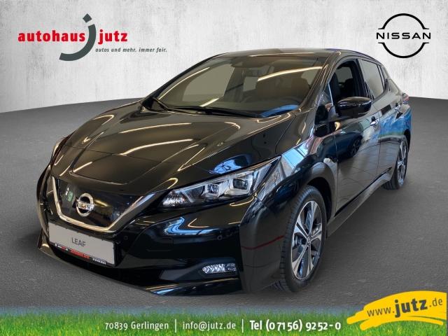 Nissan Leaf Tekna LED Navi Keyless ACC Parklenkass. Fernlichtass. PDCv+h LED-hinten LED-Tagfahrlicht, Jahr 2021, Elektro