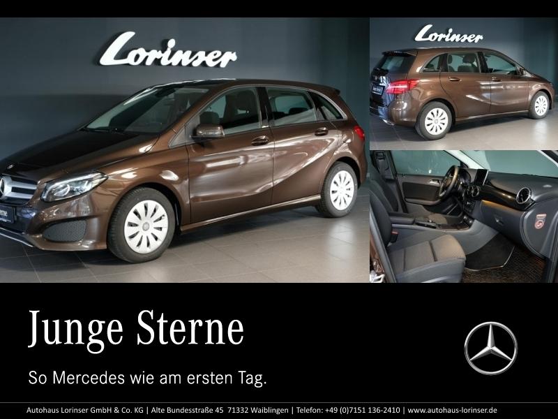 Mercedes-Benz B 220 d LED/NAVI GARMIN/PTS+KAMERA/SHZ/TEMPOMAT, Jahr 2015, diesel
