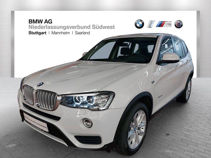 BMW X3 xDrive28i Advantage Var. Lenkung Xenon AHK, Jahr 2017, Benzin