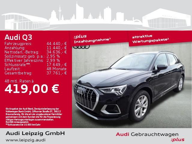 Audi Q3 40 TFSI qu. advanced S-tro. *Matrix*B&O*Pano*, Jahr 2019, Benzin