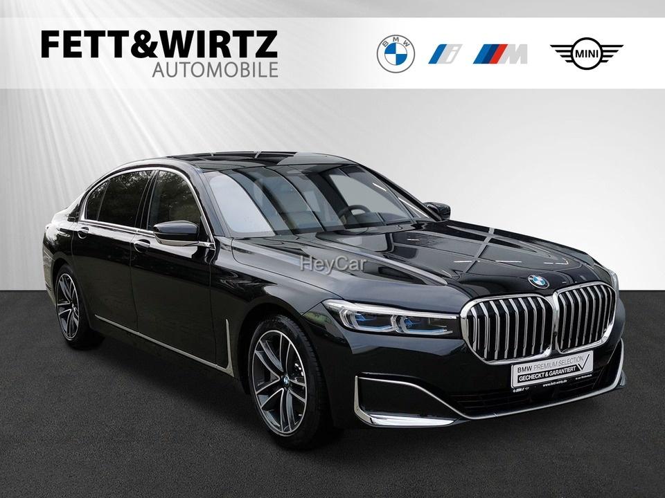 BMW 745Le Laser GSD Massage H/K Leas ab 875,- br.o.A, Jahr 2019, Hybrid