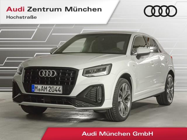 "Audi Q2 35 TFSI S line 19"" Virtual LED Navi Teilleder R-Kamera S tronic, Jahr 2021, petrol"