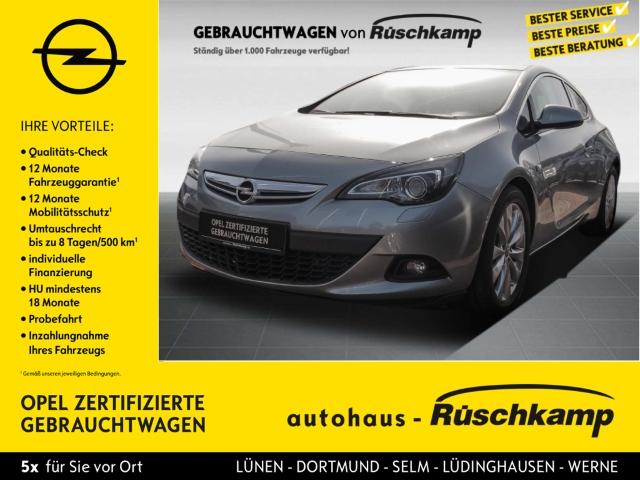 Opel Astra J GTC Innovation 1.6 Turbo Dyn. Kurvenlicht Fernlichtass. LED-hinten LED-Tagfahrlicht, Jahr 2013, Benzin