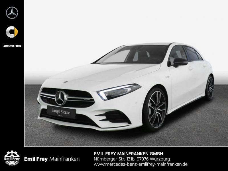 Mercedes-Benz A 35 AMG 4M+Night+PremiumNavi+Beam+ParkAssist, Jahr 2019, Benzin