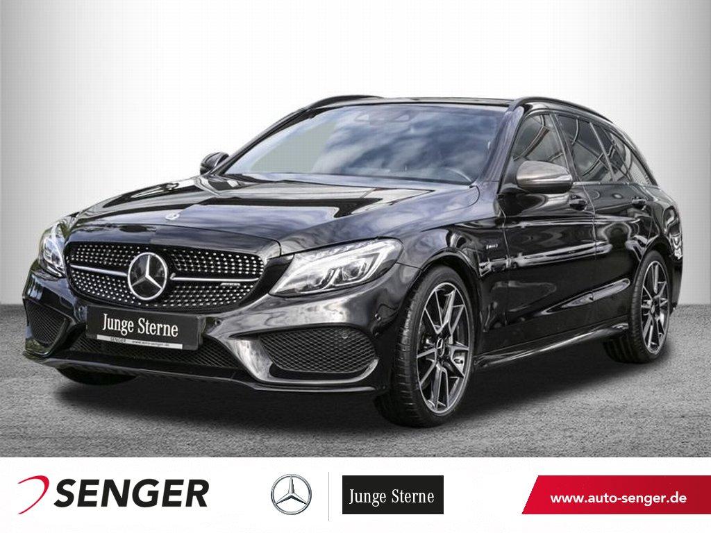 Mercedes-Benz C 450 AMG 4M T *Distronic*Panorama*AHK*Head-up*, Jahr 2016, Benzin