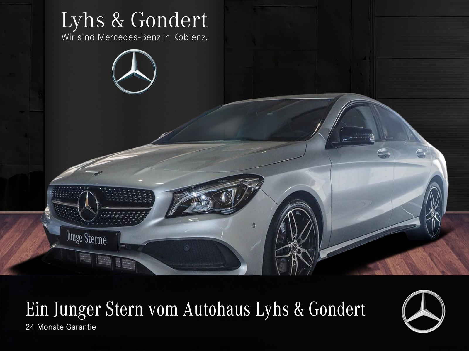 Mercedes-Benz CLA 250 Coupé PEAK AMG Night LED PDC, Jahr 2017, Benzin