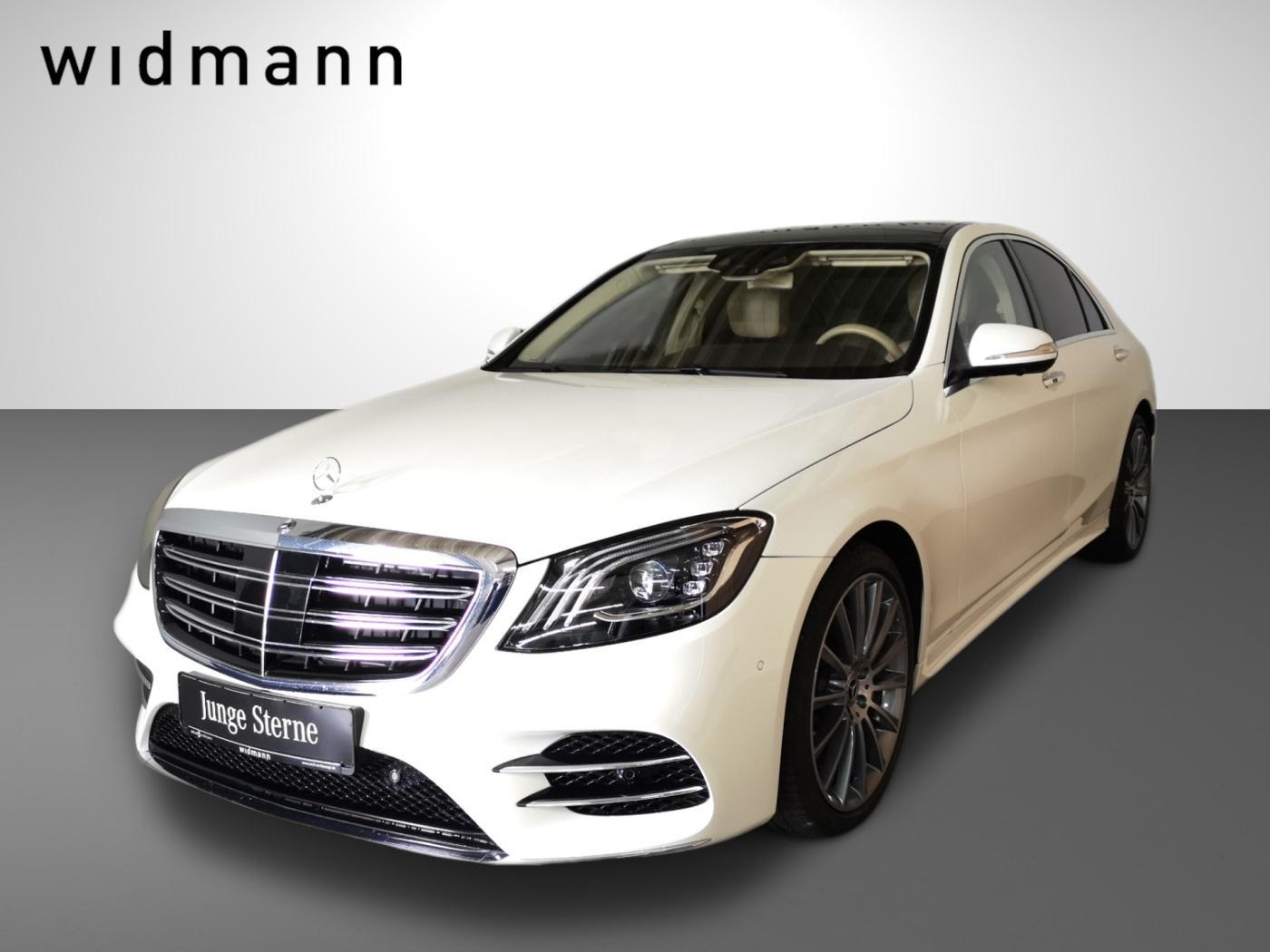 Mercedes-Benz S 400 d 4M *AMG*Comand*ILS*Standhzg*Pano*HUD*DAB, Jahr 2018, Diesel