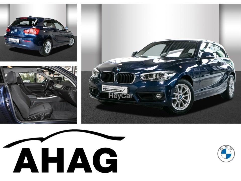 BMW 120i Advantage Aut. Navi Business PDC LM, Jahr 2018, Benzin