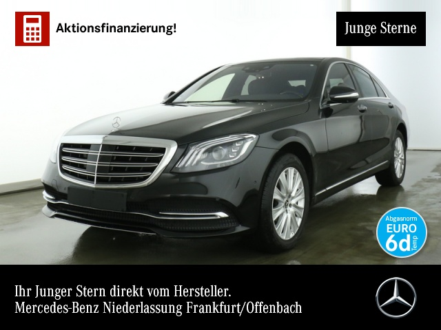 Mercedes-Benz S 560 4M Pano Remote TV HuD DISTRONIC FondEntert, Jahr 2019, Benzin