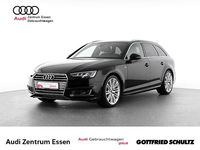 Audi A4 Avant 2.0 TFSI S-TRONIC S-LINE LED NAV RÜFAHR SHZ PDC VO HI FSE MUFU, Jahr 2018, Benzin