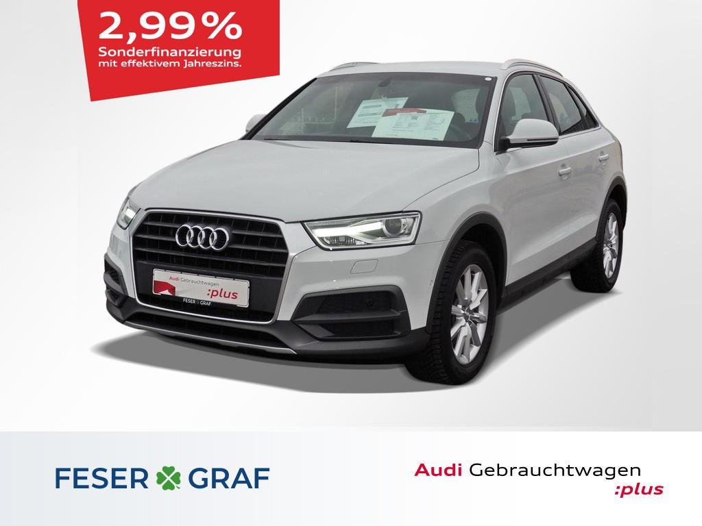 Audi Q3 Design 1.4 TFSI S tronic Xenon Plus/Alu-17`, Jahr 2017, Benzin