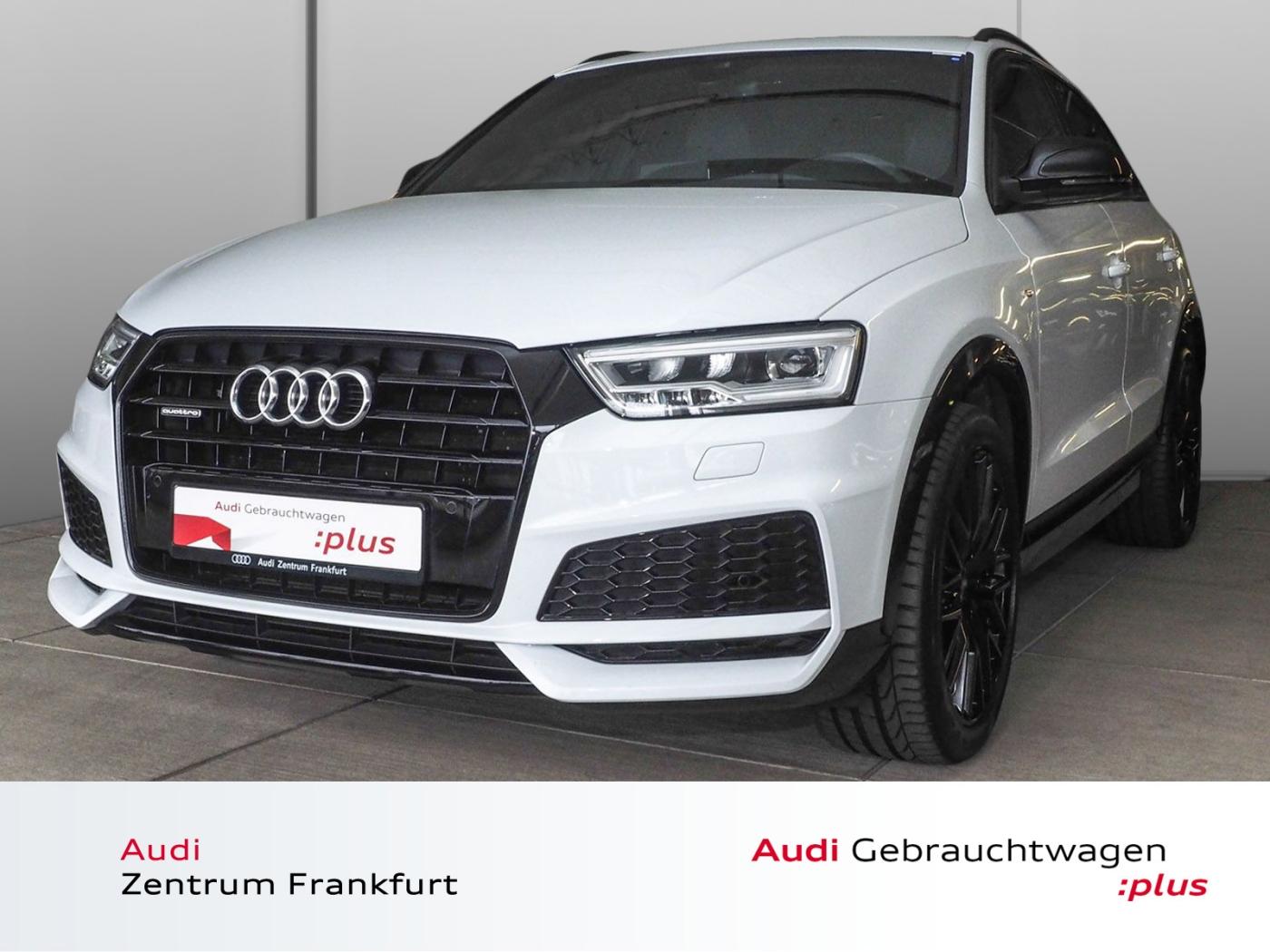 Audi Q3 2.0 TDI s tronic S line Pano BOSE Navi LED S-, Jahr 2017, Diesel