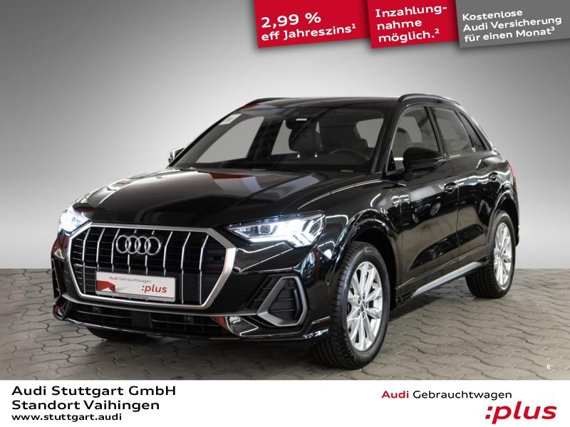 Audi Q3 design 35 TFSI S line LED Navi ACC 360° AHK, Jahr 2019, Benzin