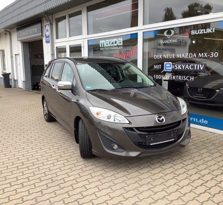Mazda 5 1.6 l MZ-CD 85 kW (115 PS) Sendo Navi Xenon, Jahr 2015, Diesel