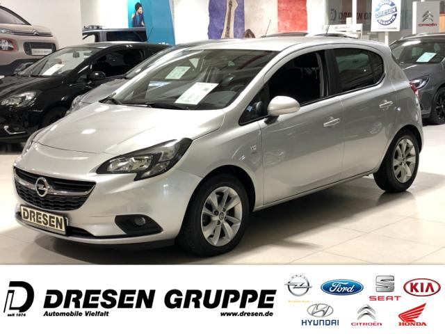 Opel Corsa E Active ecoFlex 1.4 Turbo/Klima+Sitzheizung+Tempomat, Jahr 2016, Benzin