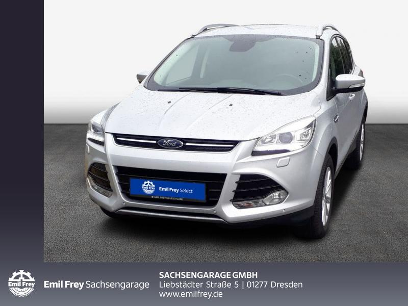 Ford Kuga 2.0 TDCi 2x4 Titanium Bi-Xenon PDC v+h, Jahr 2017, Diesel