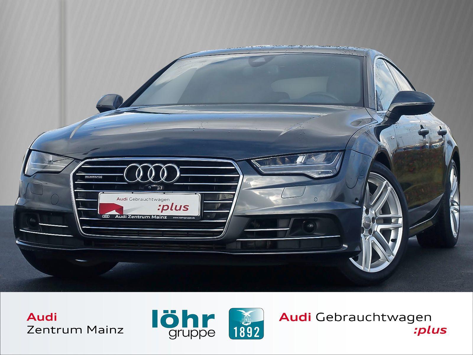 Audi A7 3.0 TDI quattro S tronic S line*Leder*LED*, Jahr 2015, diesel