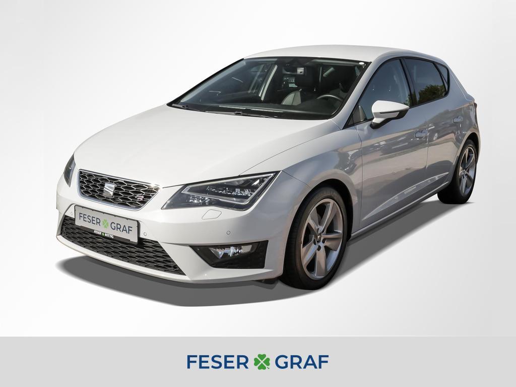 Seat Leon 1.4 TSI FR LED/Navi/Sitzhzg/Einparkhilfe/GR, Jahr 2014, Benzin