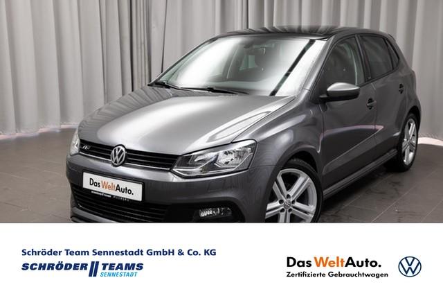 "Volkswagen Polo 1.2 TSI ALLSTAR "" R-Line "" PANO,SITZHEIZUNG,TELEFON, Jahr 2017, petrol"