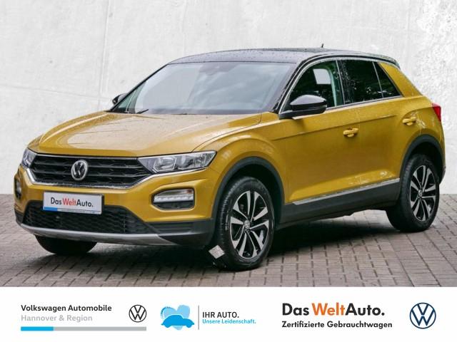 Volkswagen T-ROC 1.5 TSI DSG United Navi Standhz Klima ACC PDC, Jahr 2020, Benzin