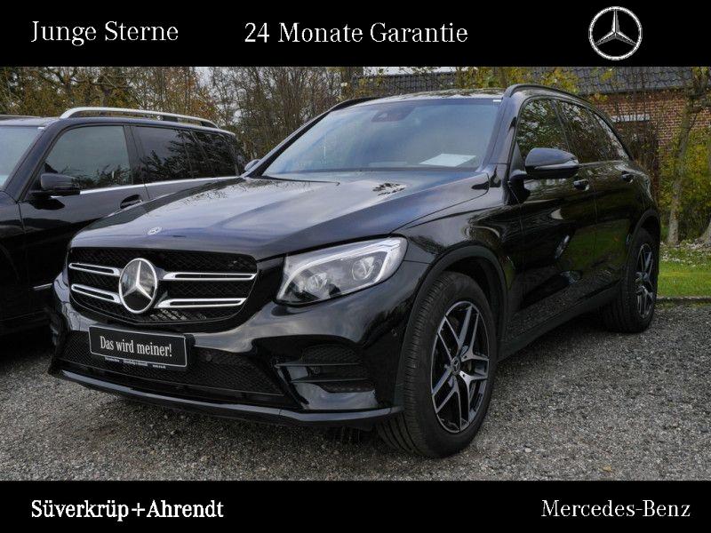 Mercedes-Benz GLC 300 4M AMG Line Night Distronic Comand LED, Jahr 2018, petrol