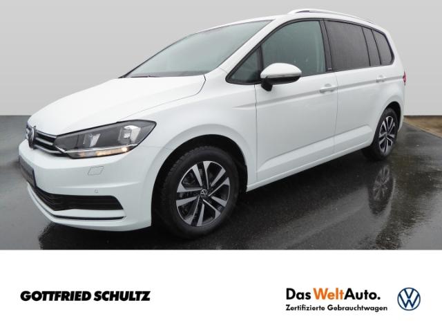 Volkswagen Touran 2.0TDI NAVI TOUCH PDCvo.&hi. PANO AHK SHZ APP ISO-FIX 7SITZ GARANTIE United, Jahr 2021, Diesel