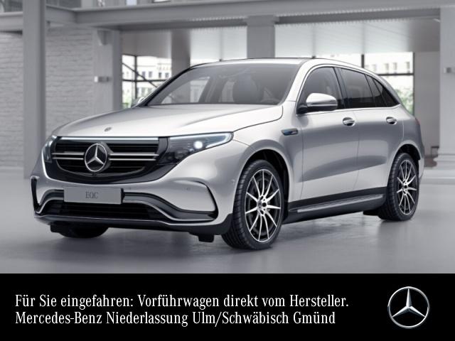 Mercedes-Benz EQC 400 4MATIC AMG Multibeam Distr. SHD HUD AHK, Jahr 2019, Elektro