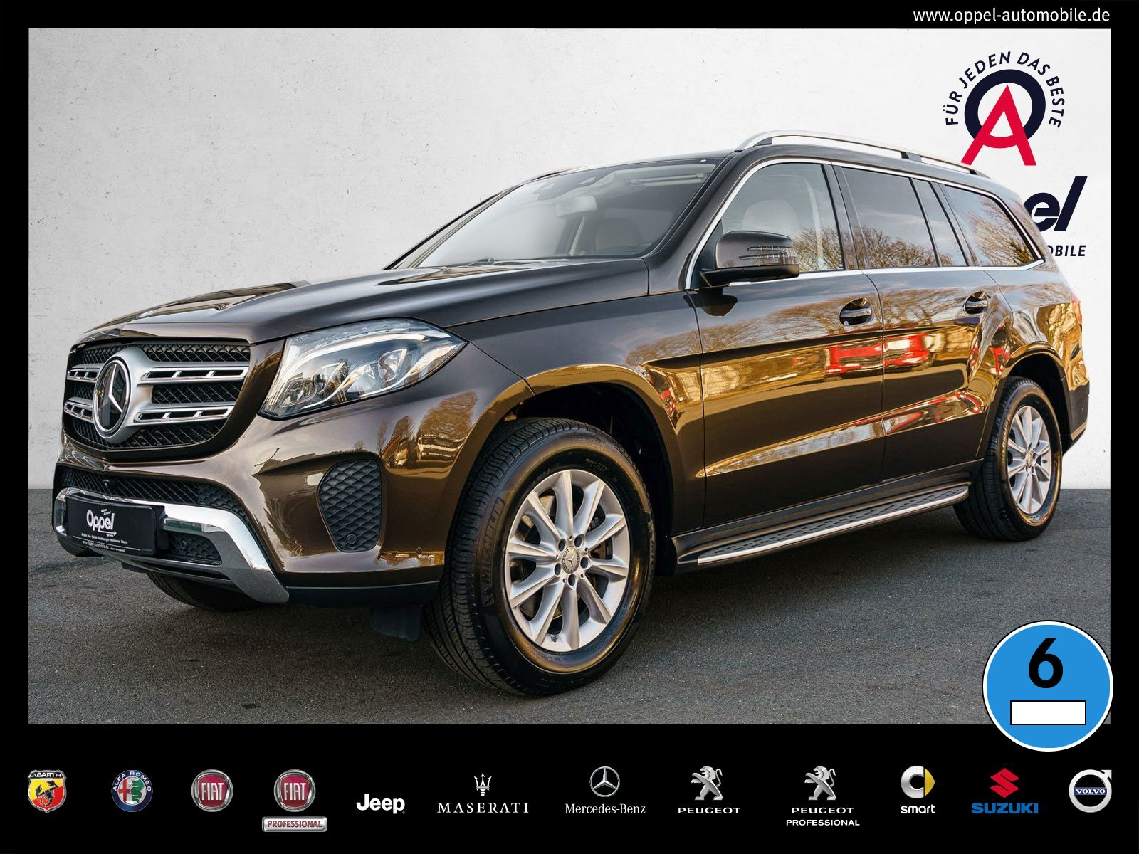 Mercedes-Benz GLS 350 BlueTEC 4M COMAND+DISTRONIC PLUS+LED+AHK, Jahr 2016, Diesel