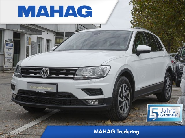 Volkswagen Tiguan 1.4 TSI ACT SOUND AHK/Navi/Sitzhzg./ACC 6 Gang, Jahr 2017, Benzin