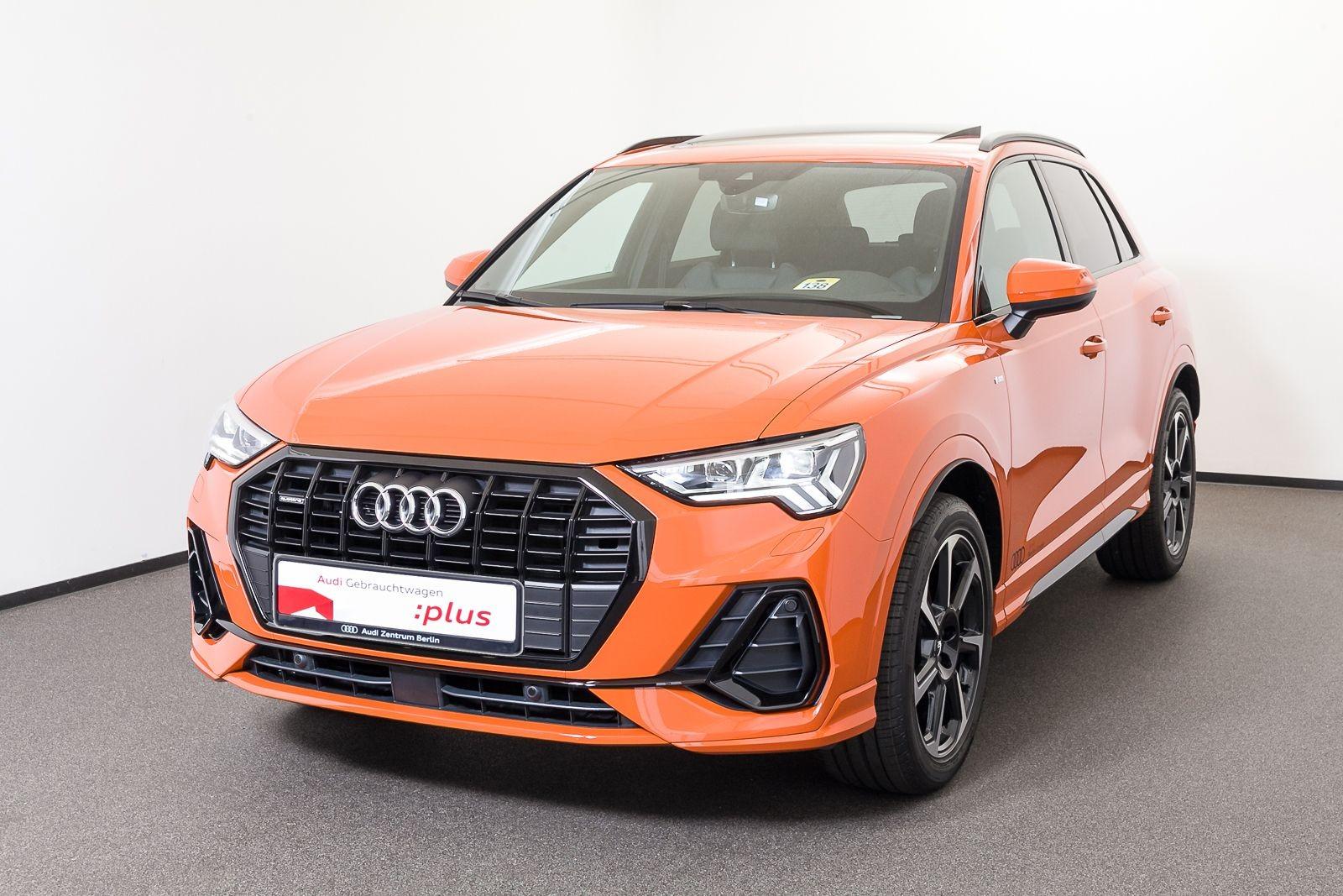 Audi Q3 S line 40 TFSI quattro S tronic LED NAVI, Jahr 2020, Benzin