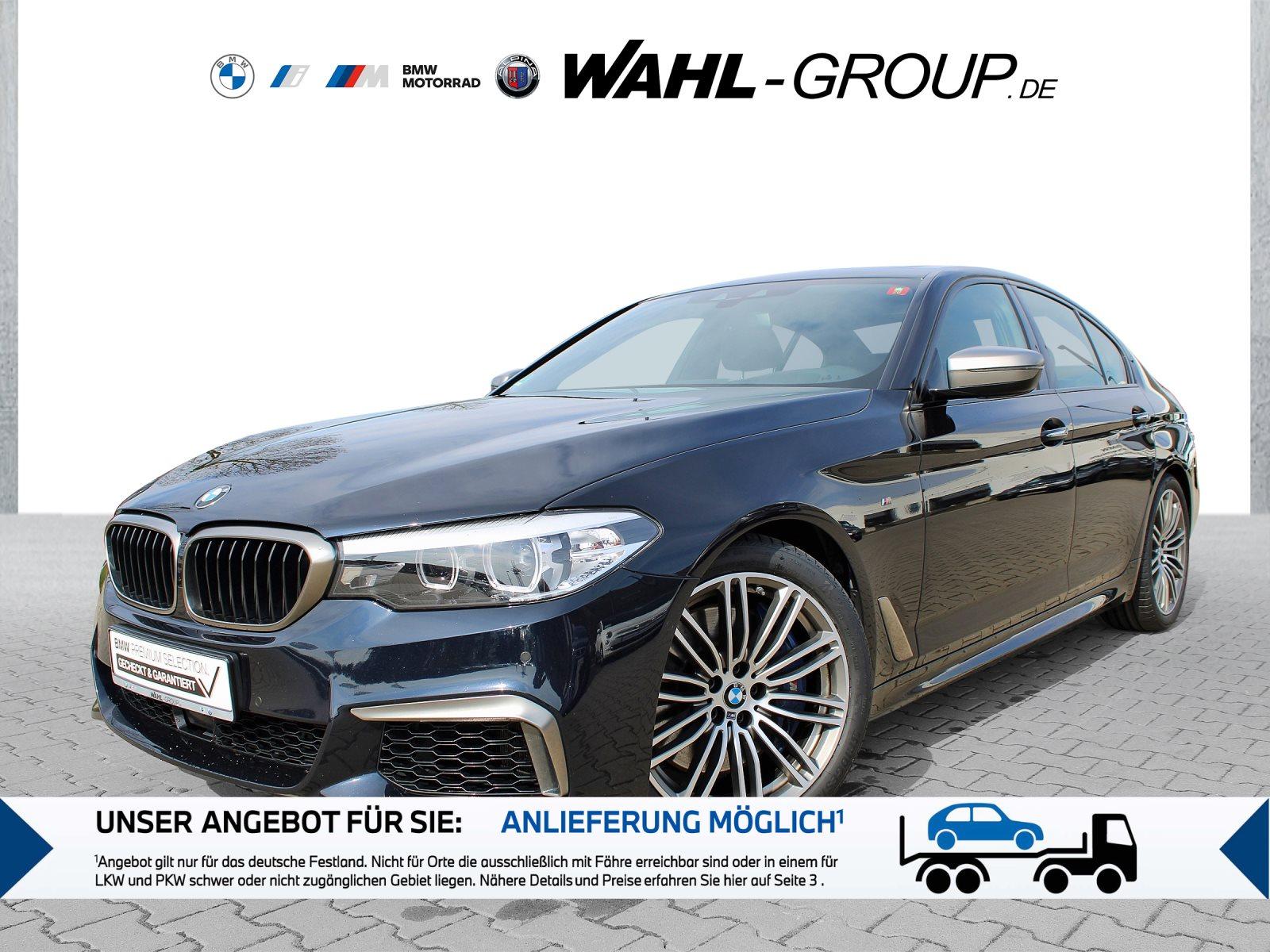 BMW M550i xDrive DrAss HaKa eSD AHK HUD Stop&Go NaviP, Jahr 2018, Benzin