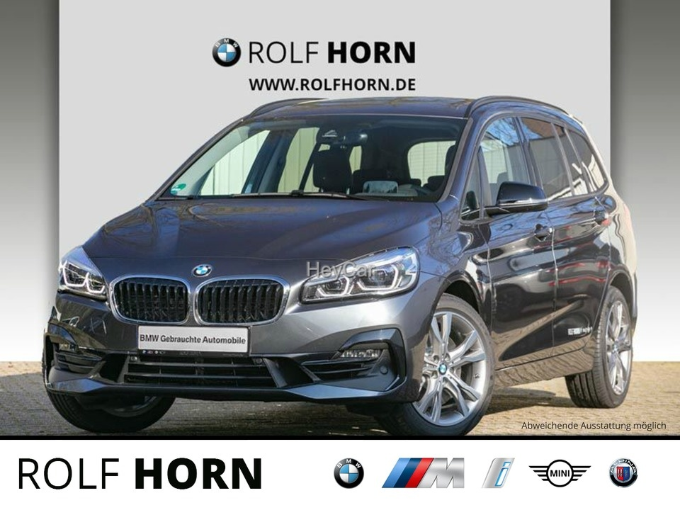 BMW 220 Gran Tourer Autom. LED AHK PDC RKam Sitzhzg, Jahr 2020, Benzin
