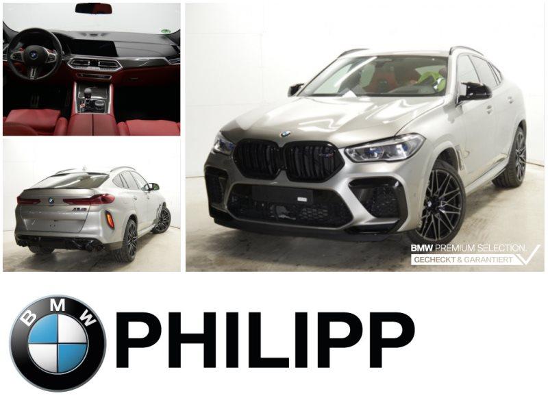 BMW X6 M Competition B&W AHK Laser Sitzlüft Carbon, Jahr 2020, Benzin